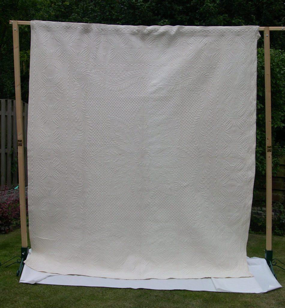 White quilt