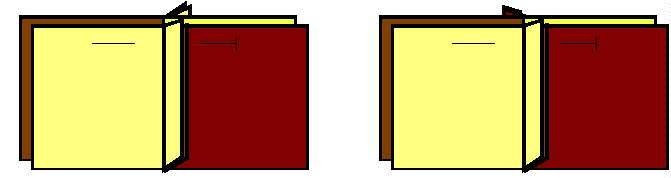 Diagram showing some bulky seams, and some which are pressed differently to avoid bulk