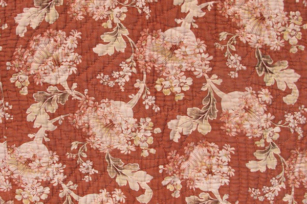 Flowered fabric