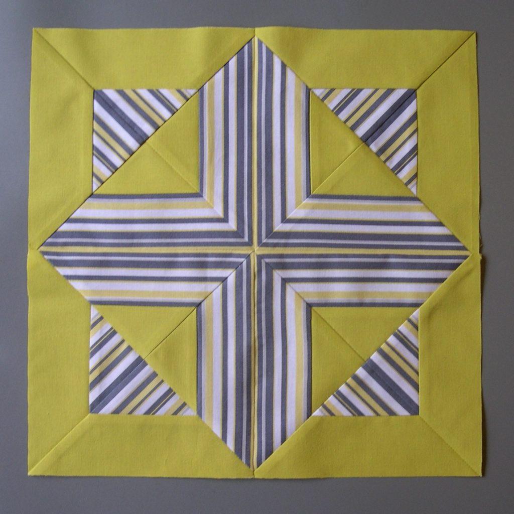Easter Morning design patchwork block
