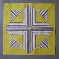 Easter Morning design patchwork block