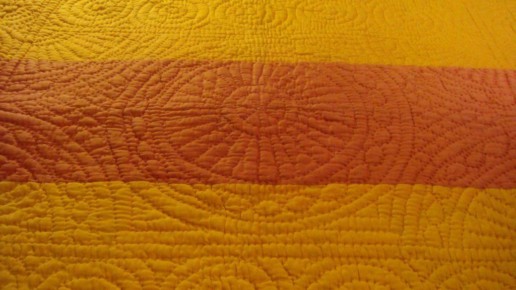 Circular stitching design