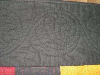 Swirling motif