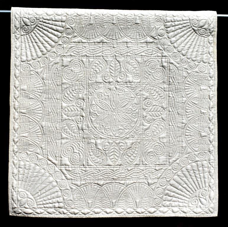 Cream quilt