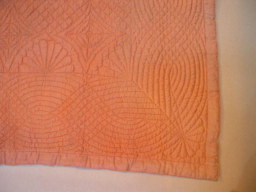 Quilted corner design