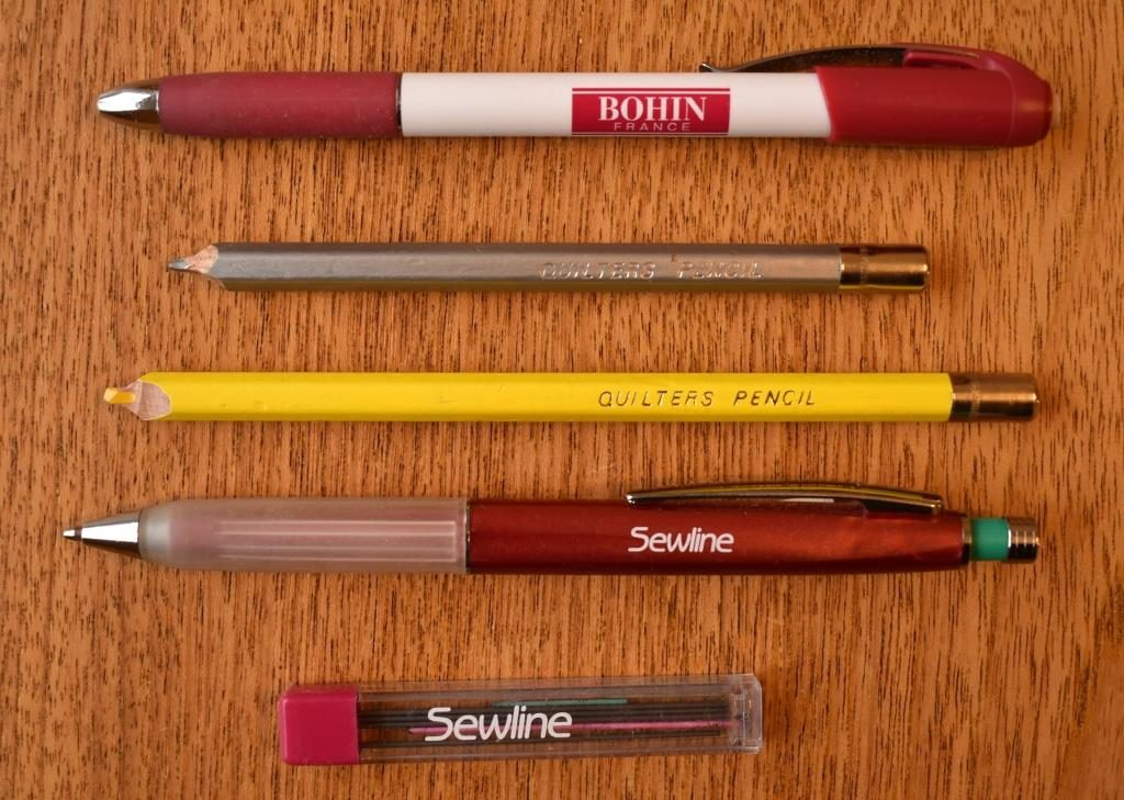 Quilters pencils
