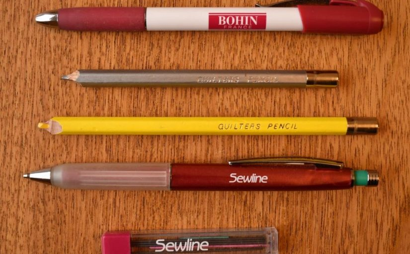 Bohon, Sewline and Quilters Pencils in various colours