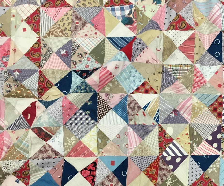 Multicoloured patchwork